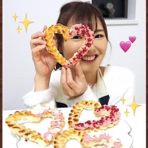 【YouTube】2本目アップ ハートチョコパイ