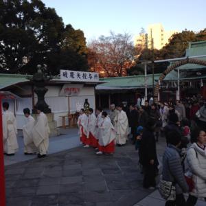 大晦日だよ日枝神社!