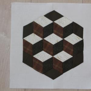 パッチワークパターン「ベビーブロック」