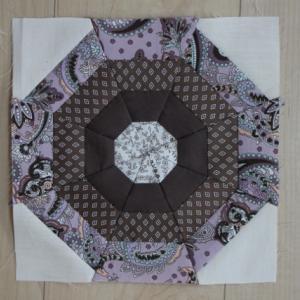 パッチワークパターン 蜘蛛の巣