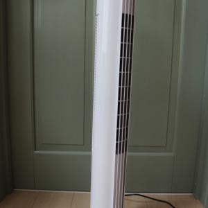 タワー型DCモーターファンを買いました。