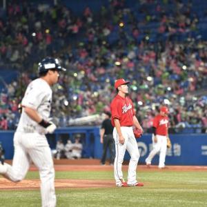 カープ中村祐太、球団史上初の先頭打者から3連続被弾… プロ野球史上25年ぶり5度目の記録