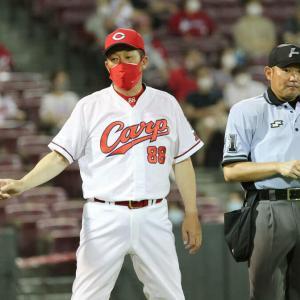 カープ先発候補2投手炎上に佐々岡監督「ほぼ白紙。今の球では厳しい」