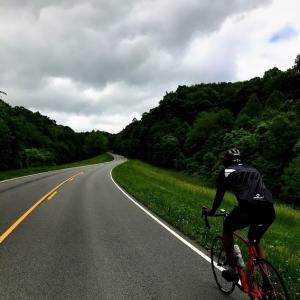 会社同僚とNachez Trail Ride