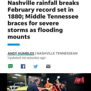 大雨の日々