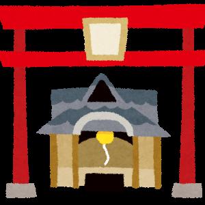 都道府県別の神社の数