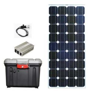命を守る自立型ソーラー蓄電装置