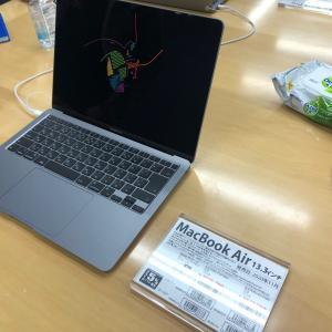 MacBook Airを見たり・・・
