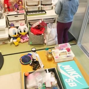 おもちゃ収納はIKEAのトロファスト!