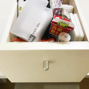 無印・セリアケースを使った薬箱の整理収納方法