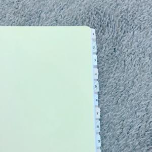 手帳インデックスをダイソーシールで自作した結果