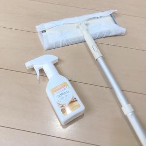 セリアの洗剤でピカピカ床掃除