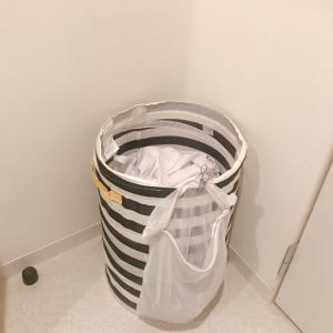 IKEAのオモチャ収納を洗濯用品に!