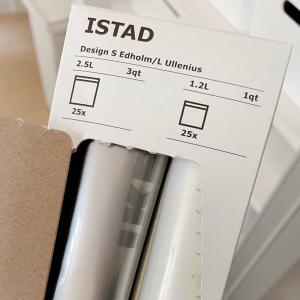 IKEAの袋がシンデレラフィットしたモノ