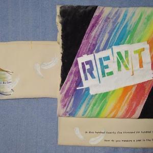 ミュージカル『RENT』の帯