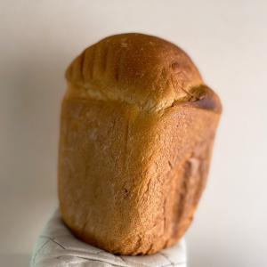 お米パンを焼いていた