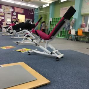 ひさしぶりに 運動に。筋肉が衰えてる気分なので。