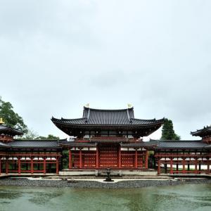 平等院 鳳凰堂 〜極楽浄土の宮殿はどしゃぶりの雨〜