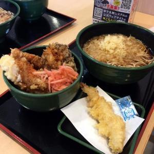 「ゆで太郎」で昼ごはん!