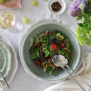 スウェーデンからやってきた美しい色の食器