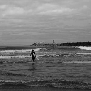 波に誘われて