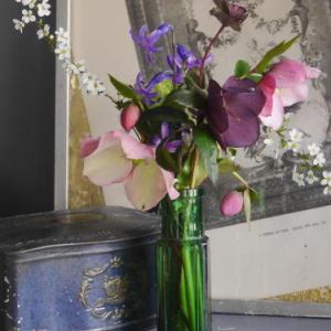 小さな花束で冬を楽しむ  〜  レンテンローズで 〜  2020