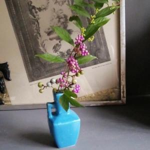 小さな花束で台風前を楽しむ 〜秋の実〜