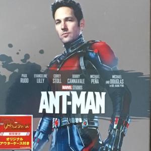 アントマンのBlu-ray!