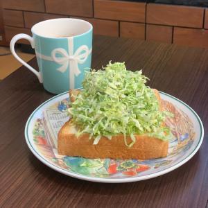 マスク⑥と朝ごパン