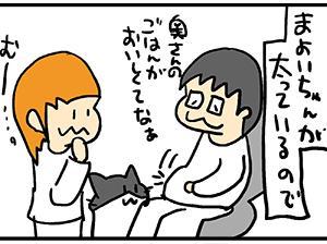 猫さんを使った高負荷トレーニング。