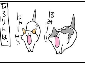 ぴゃっっ(小声)。