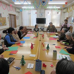 折り紙教室。