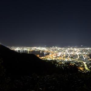 函館山夜景〜千畳敷