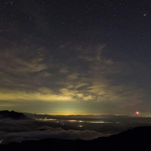 トムラウシ山星景(1)