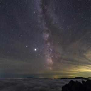 トムラウシ山星景(2)