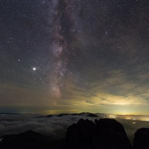 トムラウシ山星景(3)
