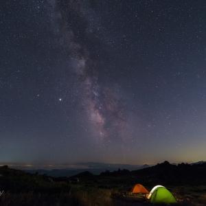 トムラウシ山星景(4)