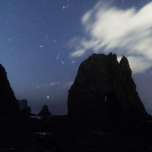 絶景の秘境 蓬莱門☆星撮り(2)