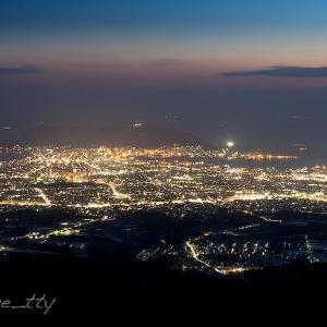 函館裏夜景〜蝦夷松山