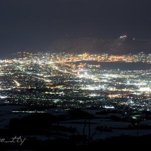 函館裏夜景〜庄司山