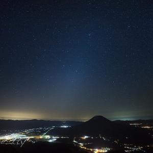 ニセコアンヌプリ星景