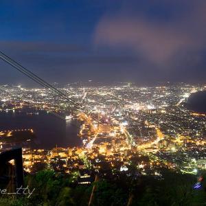 2日続けての函館山夜景