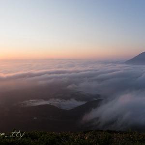 羊蹄と雲海の日の出