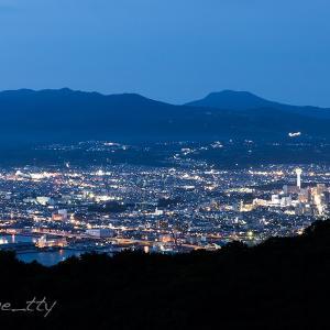 函館山入江山からの夜景