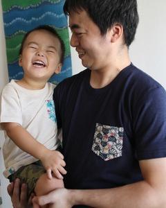 キッズポケットTシャツ【沖縄らしい出産祝いや贈り物に!】