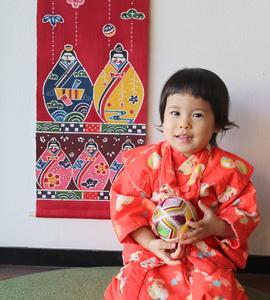 「ひな祭り」まだ間に合います!沖縄らしい「紅型ひな祭り」