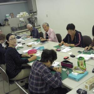 NHK文化センター名古屋教室「消しゴムはんこの世界」レポートです!
