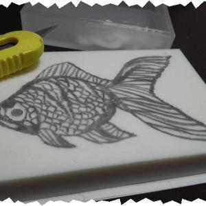 金魚はんこ『琉金』