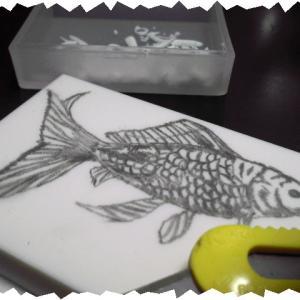 金魚はんこ『和金』