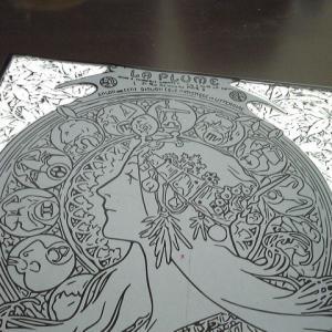 『黄道十二宮』宿題の分彫り終えました!